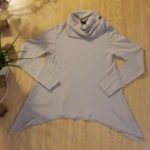 Alice + Olivia cowl neck cashmere blend sweater